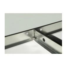 Т-профиль стандарт Alubest (24мм*29мм/0,6м/белый мат.) (60шт/уп.)