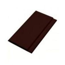 Пластиковая панель шоколад (100*10мм*6м)