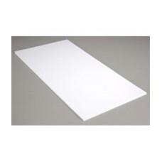 Пластик А02 белый лак 5мм (0,25*6м)