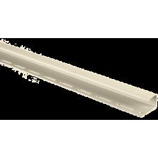 """Профиль для сайдинга """"J-trim"""" кремовая 3,66 м"""