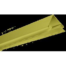Профиль для сайдинга угол наружный оливковый (3,05 м)