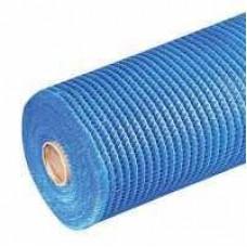 Сетка штукатурная щелочест.5*5мм (50м.кв 145гр/м2) Masternet синяя
