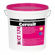 Штукатурка силикон-силикатная CERESIT CТ 174 декоративная «камешковая» 1,5 мм (25кг)